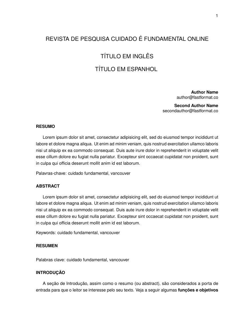 elsevier journal latex template - templates fastformat