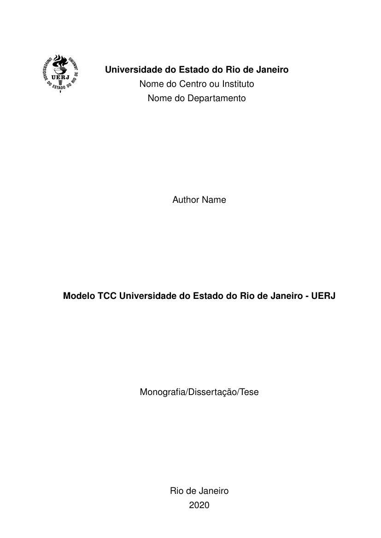 Tcc enfermagem do trabalho pdf