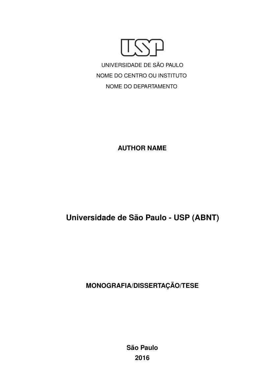 modelo tcc universidade de são paulo usp (abnt) fastformatmodelo tcc universidade de são paulo usp (abnt)
